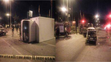 Photo of Kamyonet ile Otomobil Çarpıştı: 1 Ölü, 5 Yaralı