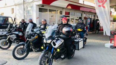 Photo of Motosiklet tutkunları Urfa'da sınır hattını gezdi
