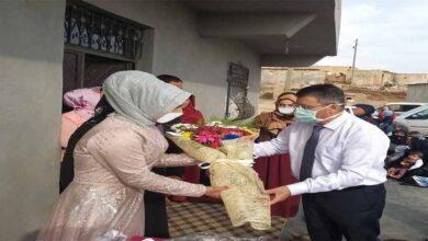 Photo of Urfa'da Doktor hastasının nişan törenine katıldı