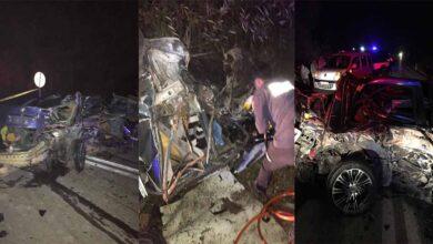 Photo of Otomobiller çarpıştı: 3 ölü