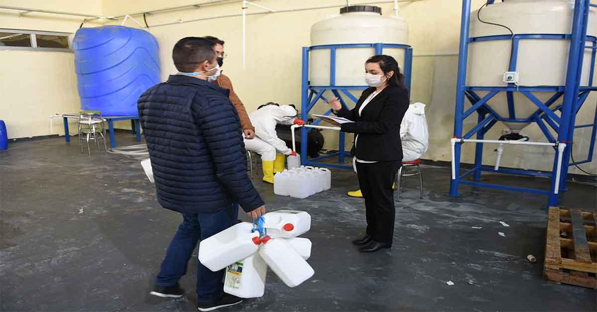 Urfa'da öğrencilerinden sıfır atık projesine destek