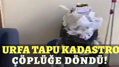 Photo of Urfa Tapu Kadastro Çöplüğe Döndü!