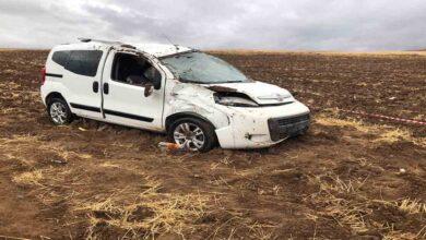 Photo of Otomobil tarlaya uçtu: 1 ölü 1 yaralı