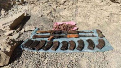 Photo of Terör örgütüne ait silah ve mühimmat el geçirildi