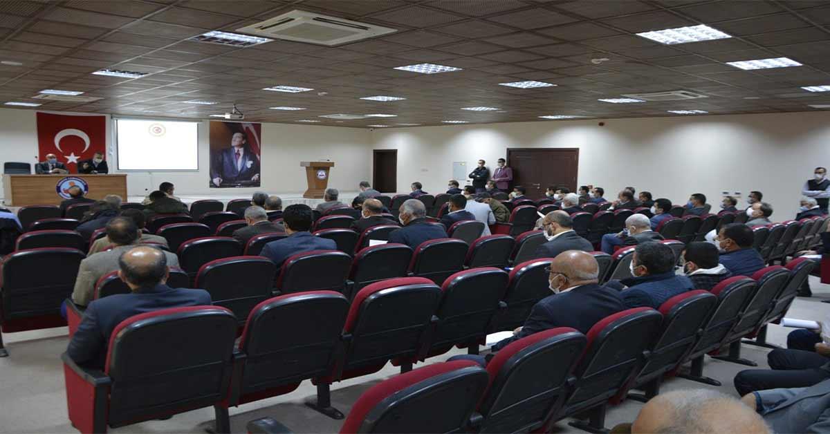 Ömer Dereci Başkanlığında Toplantı Düzenlendi