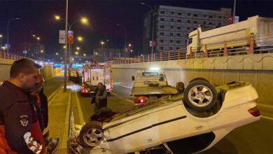 Photo of Urfa'da Devrilen otomobilin sürücüsü yaralandı