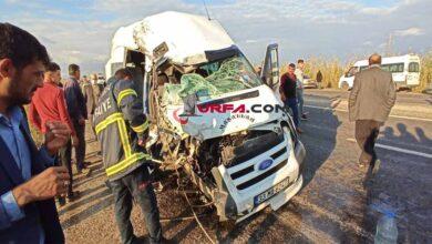Photo of Urfa'da feci kaza: 1'i ağır 6 yaralı