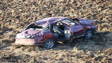 Photo of Otomobil tarlaya uçtu: 1'i ağır 4 yaralı