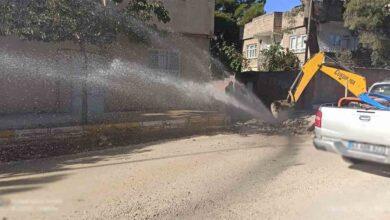 Photo of Urfa'da Boru patladı su havaya fışkırdı