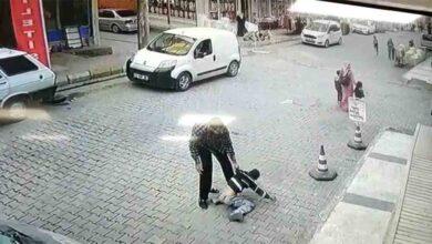 Photo of Şanlıurfa'da Çocuğu kaldırıp yere vurdu