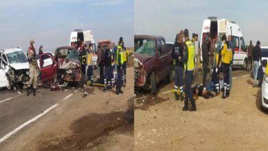 Photo of Urfa'da İki otomobil kafa kafaya çarpıştı: 10 yaralı