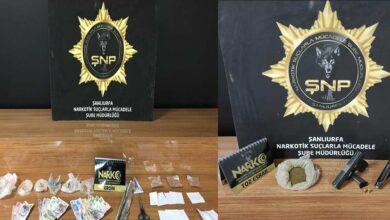 Photo of Şanlıurfa'da uyuşturucu operasyonu: 16 gözaltı