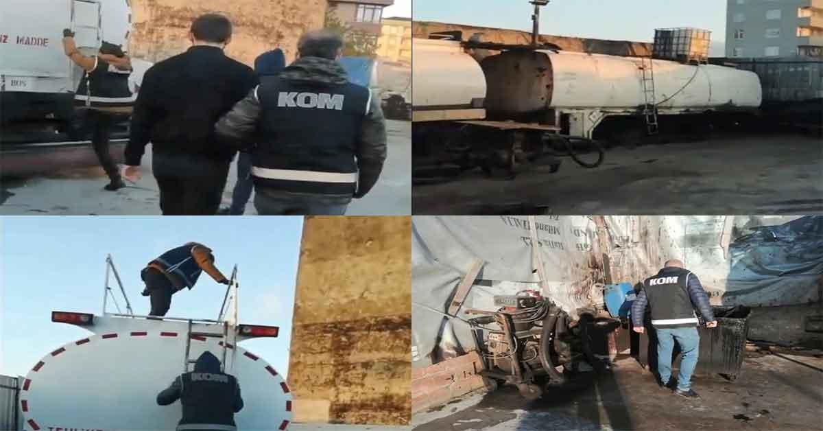 Urfa'da kalitesi düşük yakıt veren kişelere operasyon