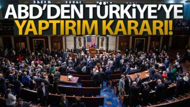 Photo of ABD'den Türkiye'ye yaptırım kararı!