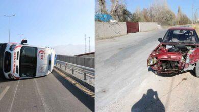 Photo of Vakaya giden ambulans devrildi