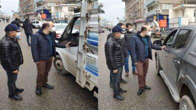 Photo of Kaymakam Duman Koronavirüs Denetimine Katıldı
