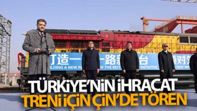 Photo of Türkiye'nin İhracat Treni için Çin'de tören