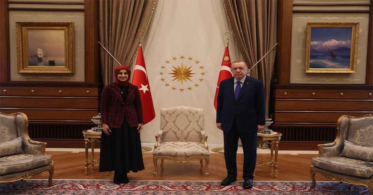 Cumhurbaşkanı, Siverek Belediyesi Başkan adayı ile görüştü