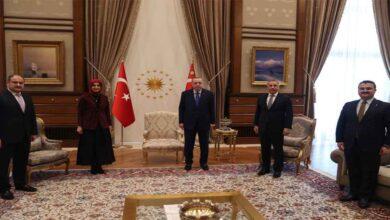 Photo of Cumhurbaşkanı, Siverek Belediyesi Başkan adayı ile görüştü