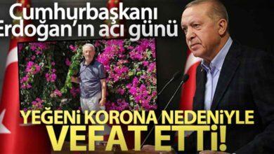 Photo of Cumhurbaşkanı Erdoğan'ın aci günü
