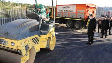 Photo of Karaköprü'de asfalt yama çalışmalarına başlandı