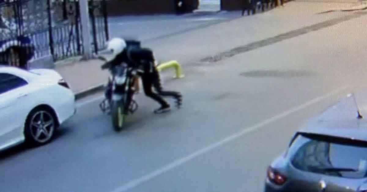Motosiklet Hırsızı Urfa