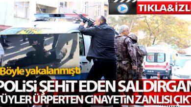 Photo of Polisi şehit eden saldırgan yakalandı