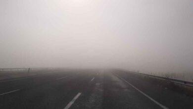 Photo of Urfa'da yoğun sis görüş mesafesini düşürdü
