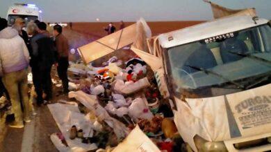 Photo of Tarım İşçilerini Taşıyan Minibüs Kaza Yaptı
