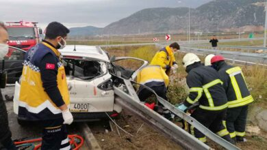 Photo of Otoyolda feci kaza: 3 ağır yaralı
