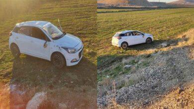 Photo of Virajı alamayan otomobil takla attı: 4 yaralı