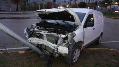 Photo of Kavşakta trafik kazası: 3 yaralı