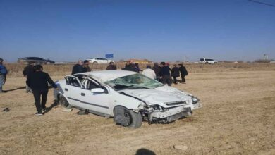 Photo of Otomobil şarampole devrildi: 4 yaralı