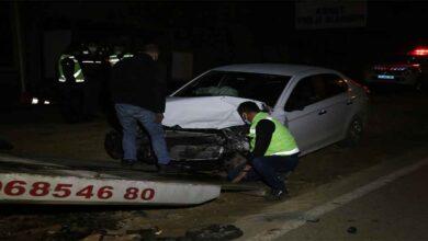 Photo of Otomobil ile minibüs çarpıştı: 6 yaralı