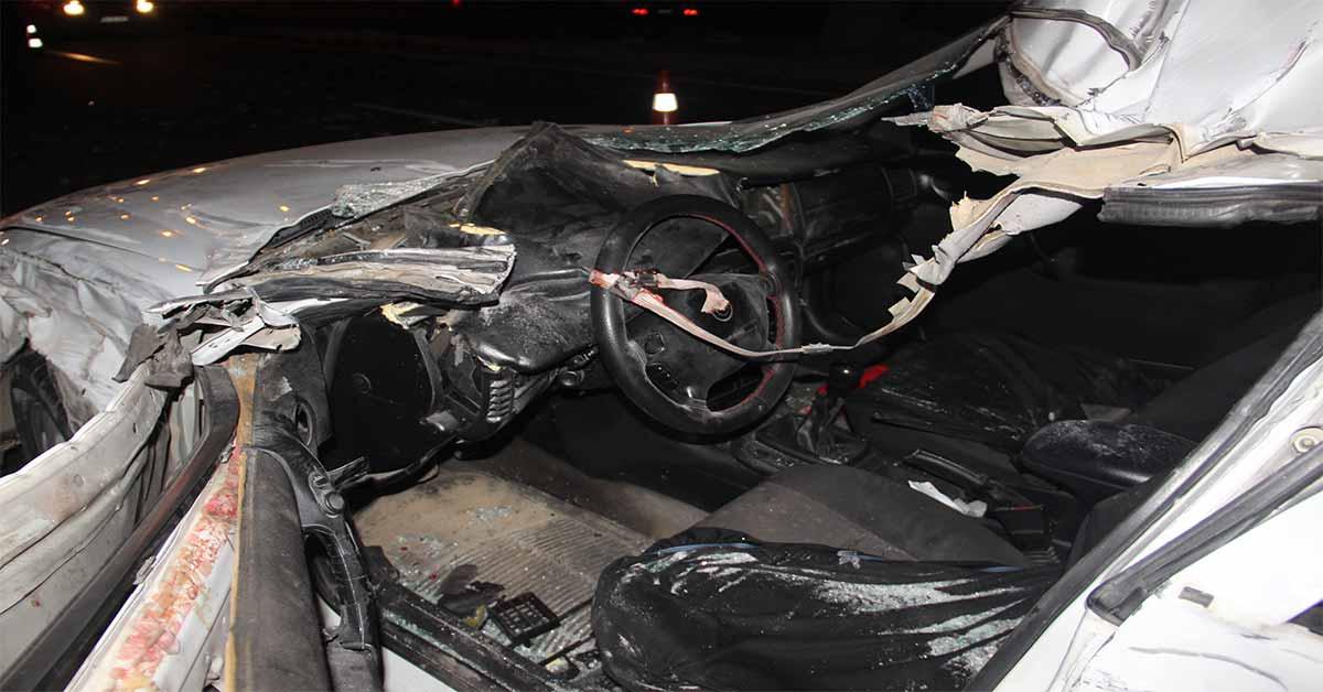Urfa'da Kısıtlama öncesi feci kaza: 1 ölü, 5 yaralı