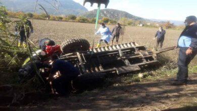 Photo of Traktör römorku devrildi: 1 ölü