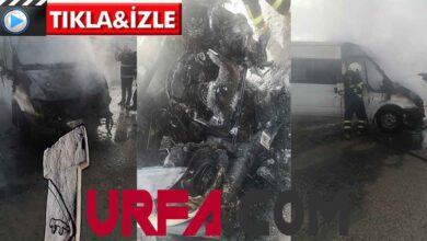 Photo of Urfa'da park halindeki araç alevlere teslim oldu!