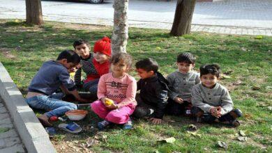 Photo of Urfa Sınırında çocuklar çiğ köfte partisi yaptı