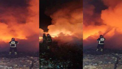 Photo of Şanlıurfa'da Atık madde yangını