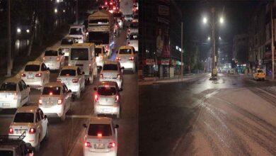 Photo of Urfa'da yollar bir anda sessizliğe büründü