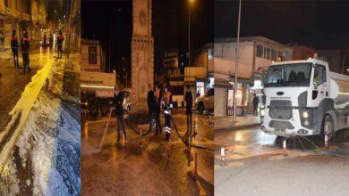 Photo of Viranşehir belediyesi'nden dezenfekte çalışması