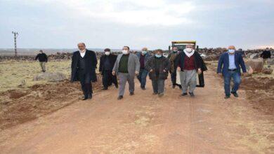 Photo of Viranşehir'de Kırsal'da Stabilize Yol Çalışması