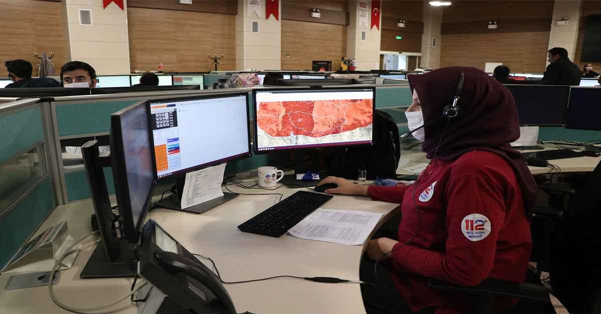 Urfa 112 Acil 2020'de 5 Milyon Çağrı Cevapladı