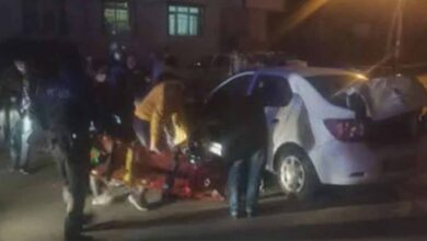 Photo of Akıl almaz kaza!