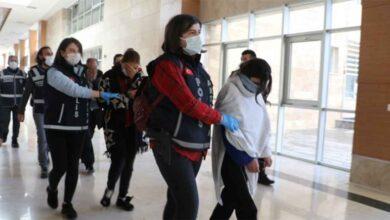 Photo of 'Altın Kızlar' tutuklandı