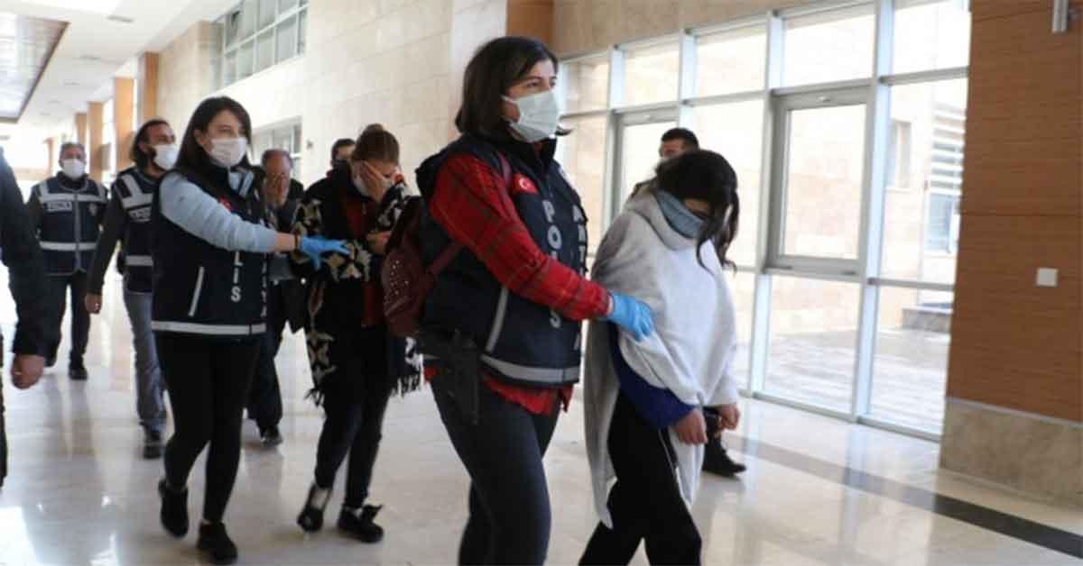 'Altın Kızlar' tutuklandı