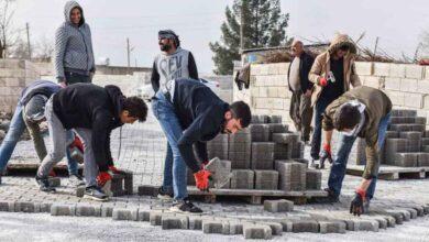 Photo of Ceylanpınar'da kilitli parke çalışması