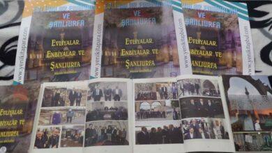 """Photo of """"Evliyalar, Enbiyalar ve Şanlıurfa"""" kitabımız nihayet Şanlıurfa'da"""
