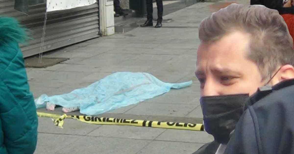 Sokak Ortasında Feci ölüm