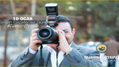 Photo of Başkan Özyavuz'dan çalışan gazeteciler günü mesajı